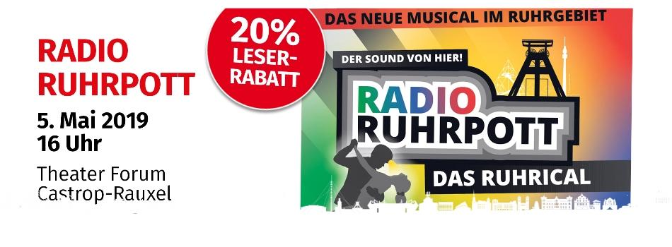 Radio Ruhrpott  |  5.5.2019  |  Tickets 27,92 €